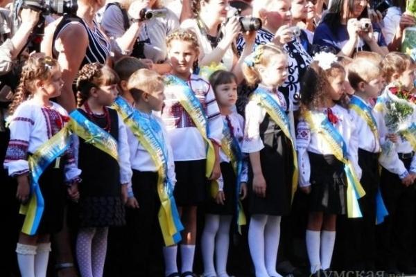 На Рівненщині цьогоріч рекордна кількість першокласників