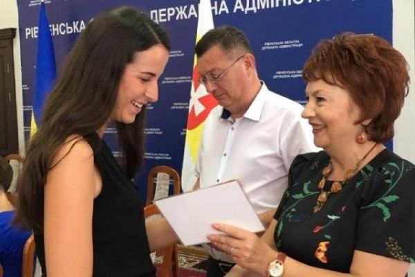 Понад сотня студентів Рівненщини отримала премії (Фото)