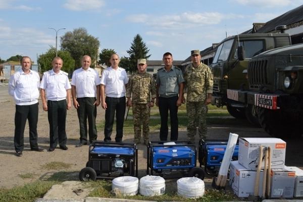 Лісівники Рівненщини зробили подарунок військовим