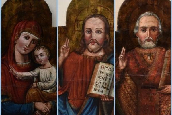 У Острозькій академії отримали прописку старовинні ікони