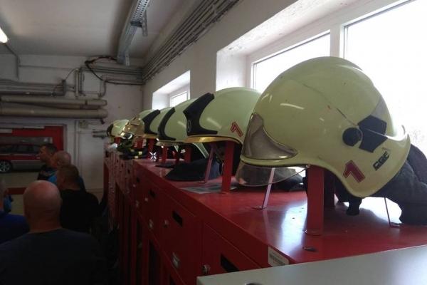 Рівненські рятувальники обмінюються  досвідом з вогнеборцями Європи