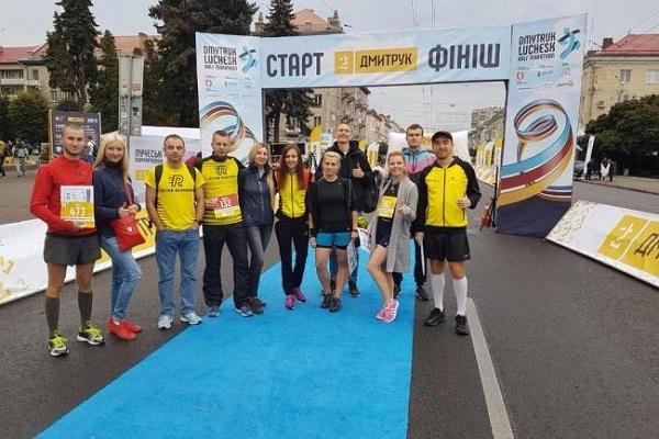 Рівненські бігуни посіли призові місця на забігу в Луцьку