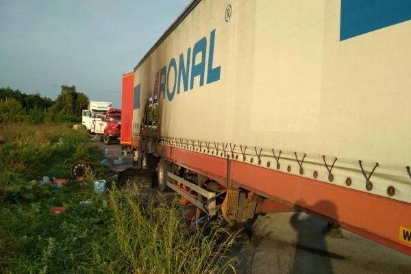 Вогнеборці ліквідували пожежу у вантажному автомобілі