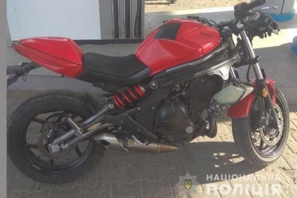 У Здолбунові зловили крадія мотоцикла
