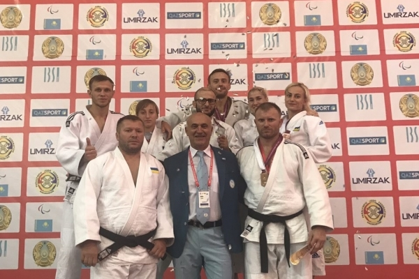 Рівненські дзюдоїсти здобули 5 медалей Кубку Світу