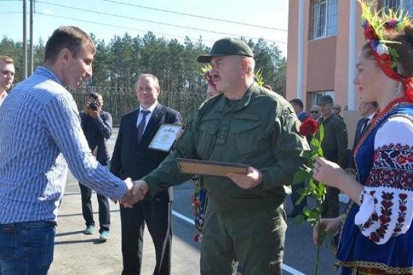 На Рівненській АЕС військовослужбовцям вручили сертифікати на придбання житла
