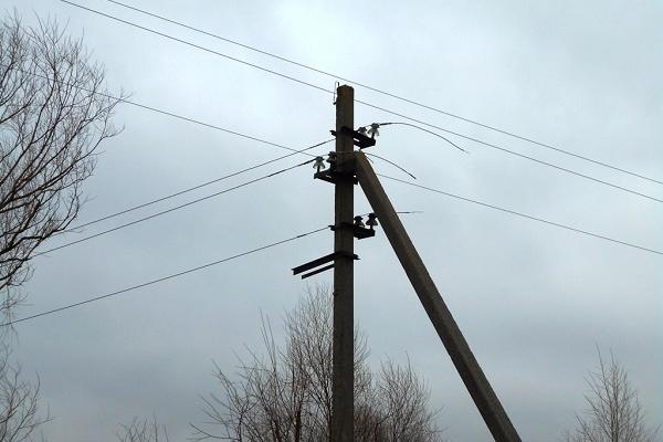 Понад два км електромереж зрізали на Рівненщині (Фото)