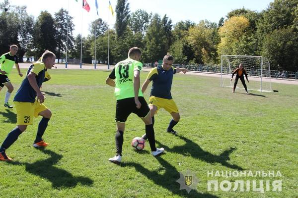 Найкраще серед поліцейських Рівненщини у міні-футбол грають млинівчани (Фото)