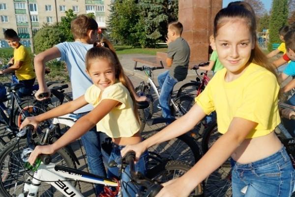 У Радивилові  пересіли на велосипеди