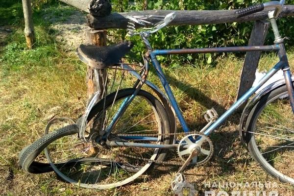 На Рівненщині водій напідпитку збив велосипедистку (Фото)