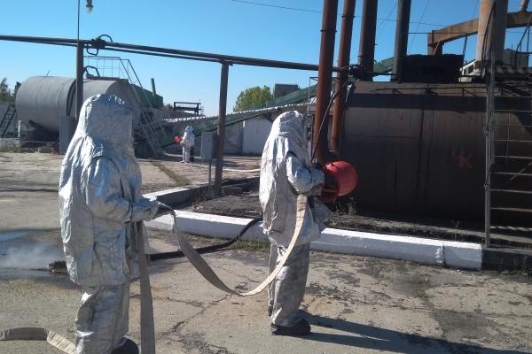 Як тренуються рятувальники з охорони Рівненської АЕС (Фото)