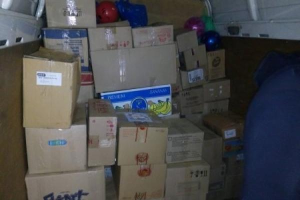 Жителі Дубровиччини передали гуманітарну допомогу для дітей зі сходу України