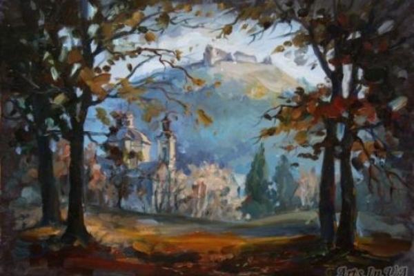 Виставка художниці з Кременця експонується у Рівненському музеї
