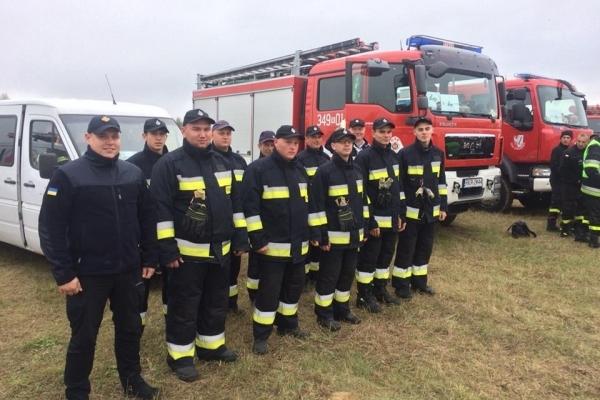 Рятувальники з Рівненщини - учасники Міжнародних польових навчань EU-CHEM-REACT (Фото)