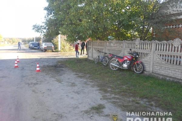 У Костополі в ДТП травмувався мотоцикліст (Фото)