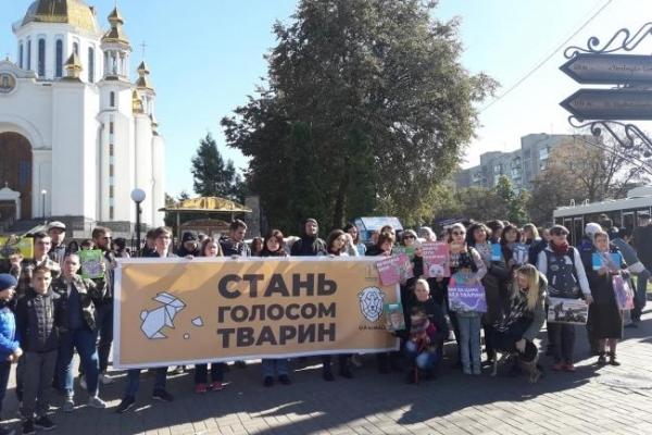 У Рівному пройшла акція проти жорстокості (Фото)