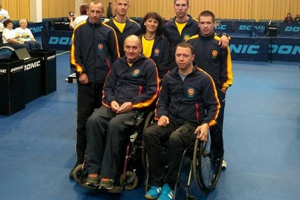 Рівняни відзначилися на Чемпіонаті України з настільного тенісу