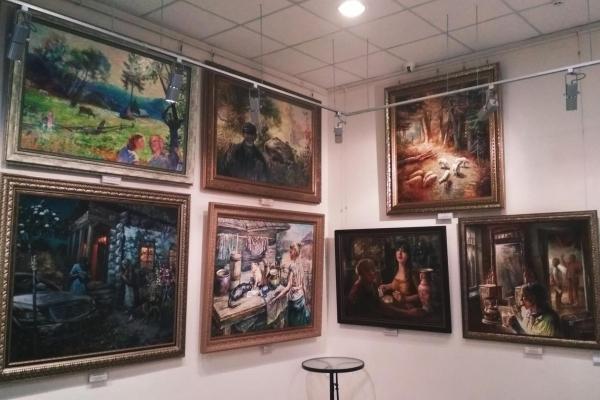 Анатолій Іваненко презентував рівнянам картини «Під небом на землі» (Відео)
