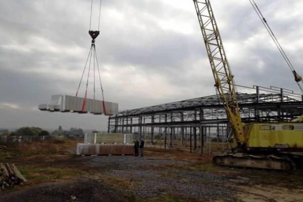 На Рівненщині триває масштабне будівництво (Фото)