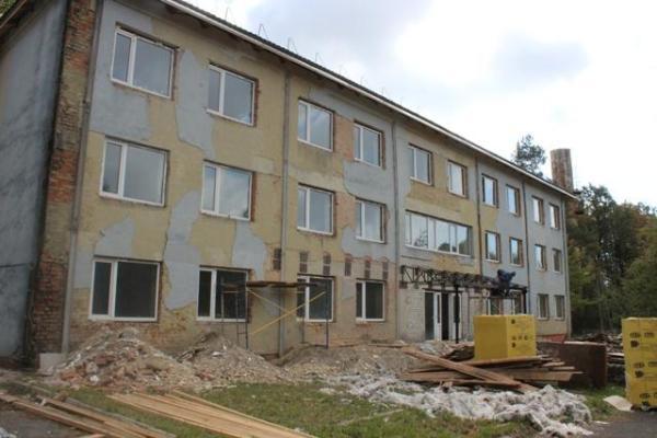 Триває капітальний ремонт Рівненського обласного центру комплексної реабілітації інвалідів