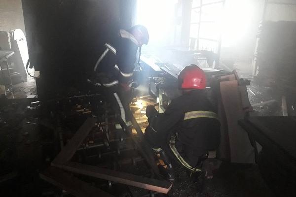 Понад півтора десятки рятувальників гасили пожежу у Рівненському районі (Фото)