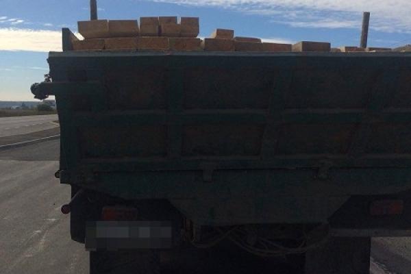 На Рівненщині перевозили лісоматеріали без дозвільних документів (Фото)