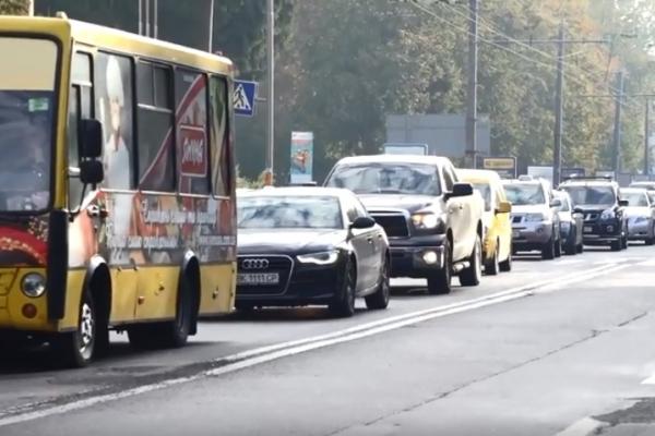 Рівненські водії протестують через вартість пального (Відео)