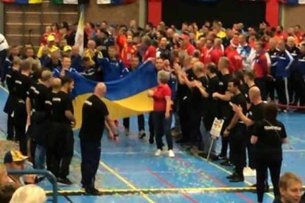 Рівненські спортсмени виступили на Всесвітньому турнірі «The world police indoor soccer tournament» (Фото)
