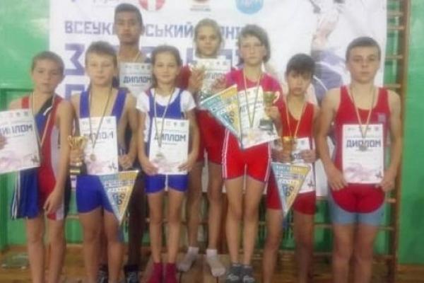 Дубенчани перші на Всеукраїнському турнірі з вільної боротьби