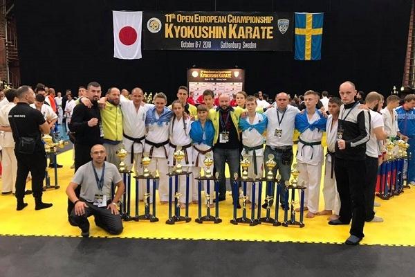 Рівненські каратисти відзначилися на Чемпіонаті Європи