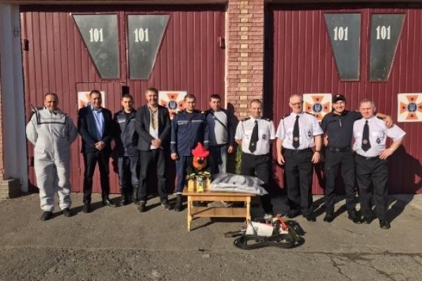 Польські вогнеборці-добровольці відвідали Млинівщину