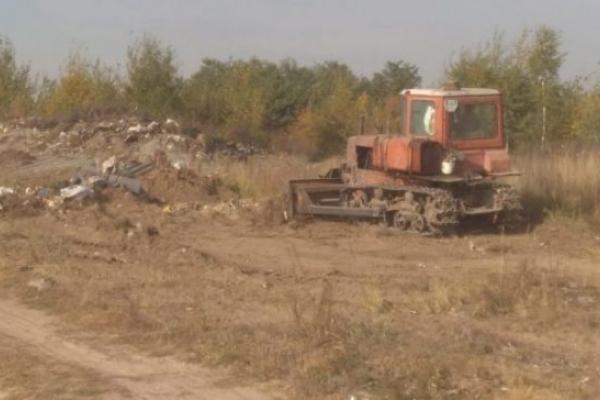 На Костопільщині взялися впорядкувати сміттєзвалища