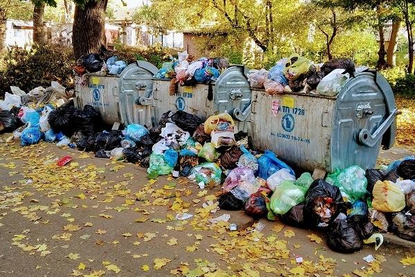 З центру Рівного не вивозять сміття? (Фото)