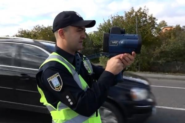 Рівненські поліцейські штрафуватимуть водіїв за допомогою «TruCam» (Відео)