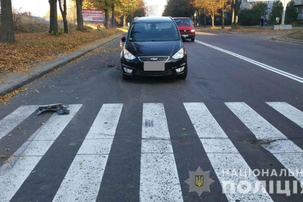 У Рівному в ДТП на вулиці Макарова травмувалася дівчинка (Фото)