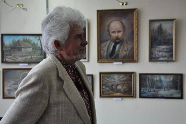 У Рівненській книгозбірні виставка  живопису  Миколи Кривчука «Безодня»