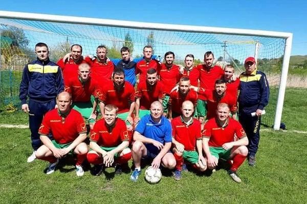 Квасилівська команда з футболу посіла друге місце на чемпіонаті Рівненщини