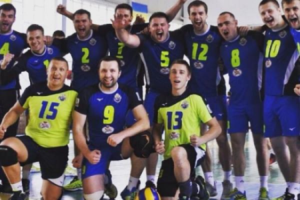 Рівненська чоловіча волейбольна команда стартувала у чемпіонаті України