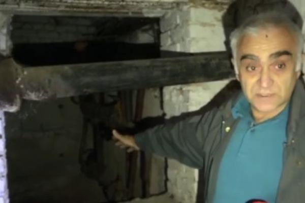 Рівняни мерзнуть у будинку на вулиці Замкова (Відео)