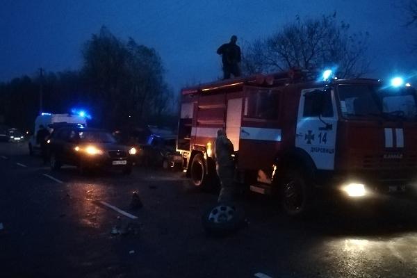 Три людини постраждало у ДТП на Рівненщині (Фото)