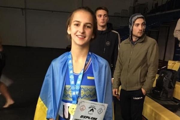 Сумоїстка з Рівненщини стала чемпіонкою Європи
