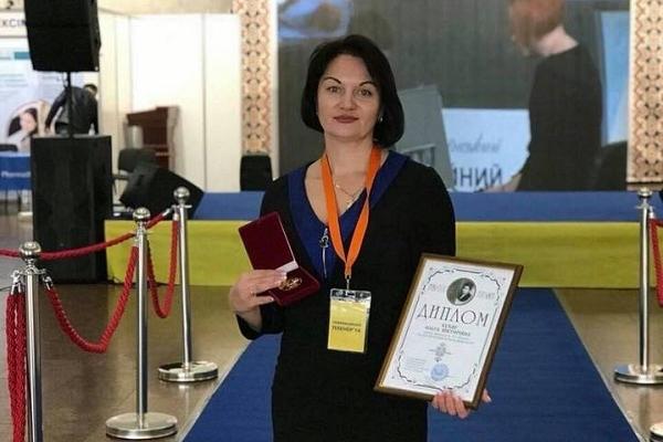 Лікарка з Рівного отримала відзнаку всеукраїнської громадської організації (Фото)