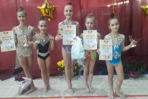 Гімнастки СК «Золота осінь» привезли нові перемоги (Фото)