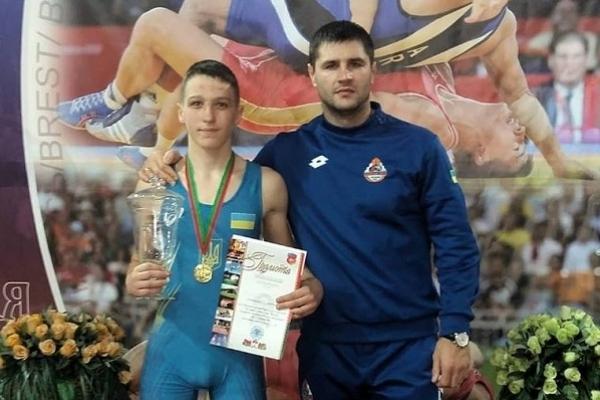 Борець з Рівненщини переміг суперників у Білорусі