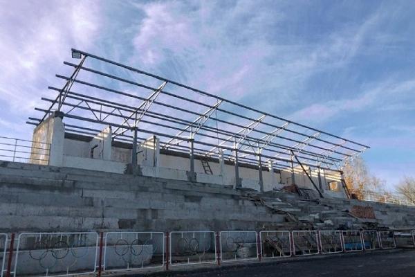 На Костопільщині капітально оновлюють стадіон «Колос»