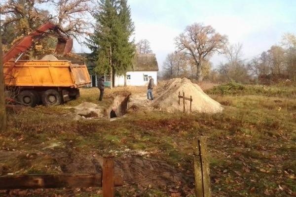 У Морочному розпочали будівництво сільської амбулаторії