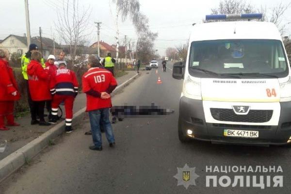 На Дубенщині загинув мотоцикліст (Фото)