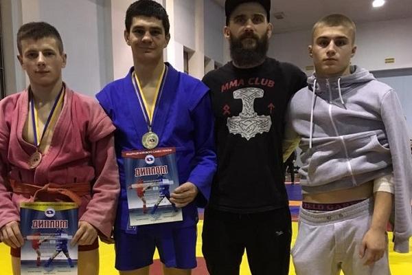 Сарненські бійці на п'єдесталі Кубку України з бойового самбо