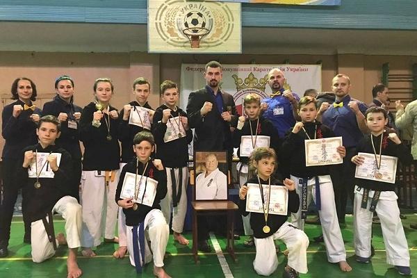 Рівненські каратисти здобули медалі на домашньому Чемпіонаті України