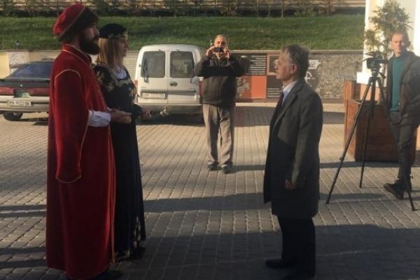 Мустафа Джемілєв став Почесним доктором Національного університету «Острозька академія»